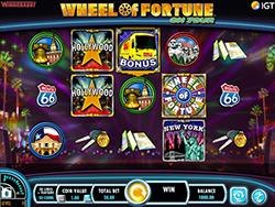 Wheel of Fortune On Tour Pokie