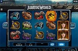 Jurassic World Pokie