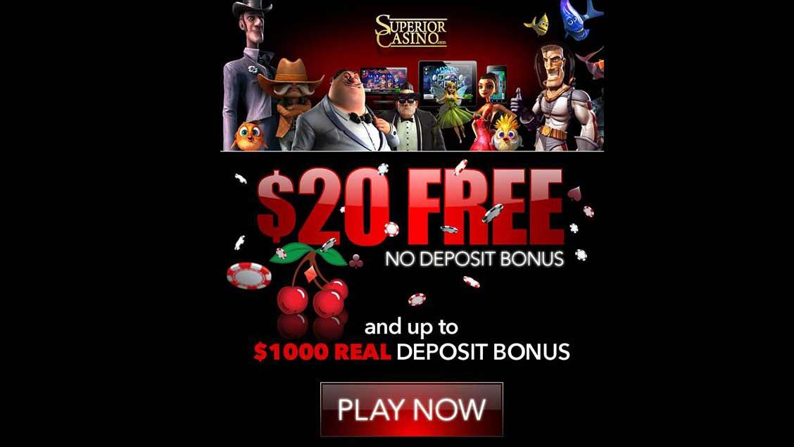 Superior Casino $20 VIP Free Bonus