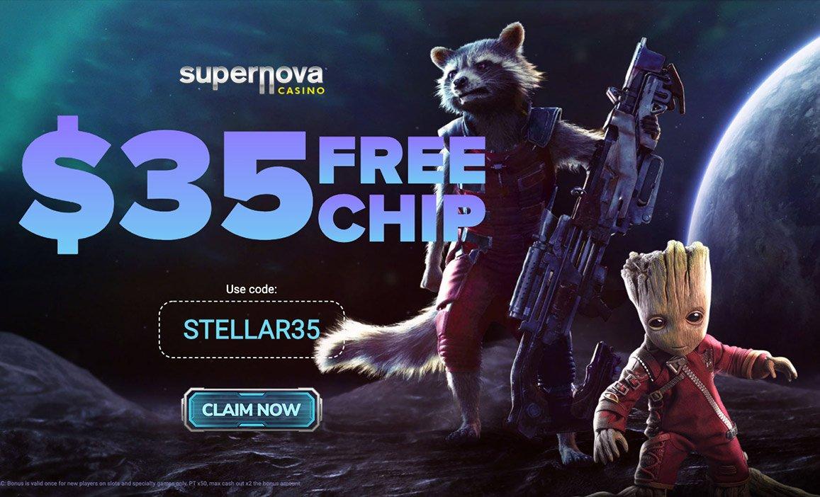 $35 Free Supernova Casino