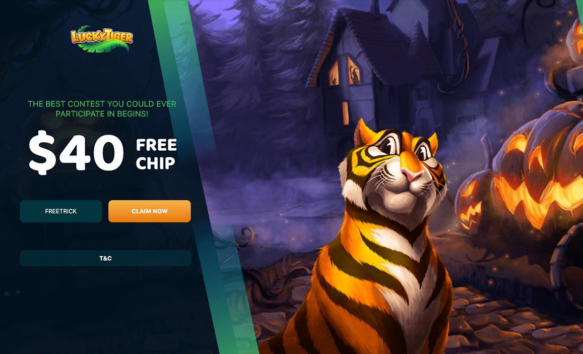 $40 Free Lucky Tiger