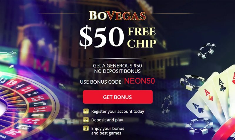 $50 AUD Free at BoVegas